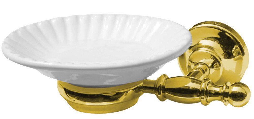 SAPHO PERLA mýdlenka, keramika, zlato (PE1065)