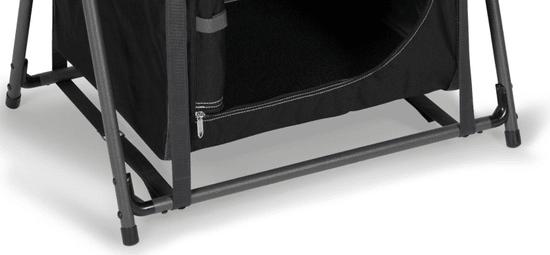 Kampa omarica za kampiranje Amber, črno-siva
