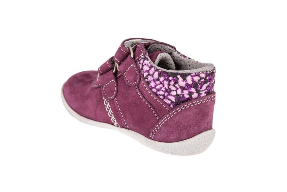 Medico Dívčí kožená obuv EX5001/M56 19 růžová