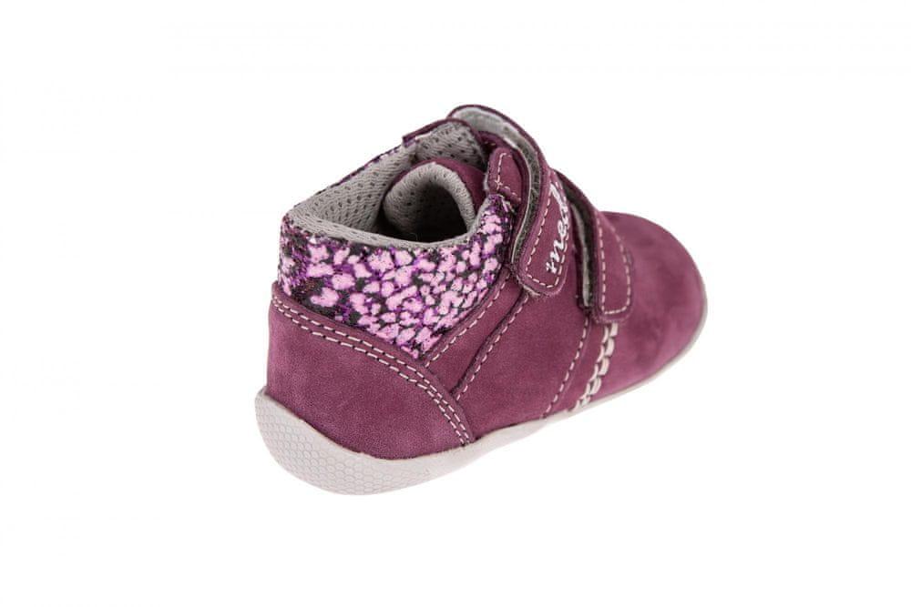 Medico Dívčí kožená obuv EX5001/M56 24 růžová