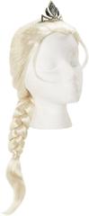Frozen Korunovační paruka Elsa s copem