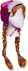 Frozen Korunovační paruka Anna s copy
