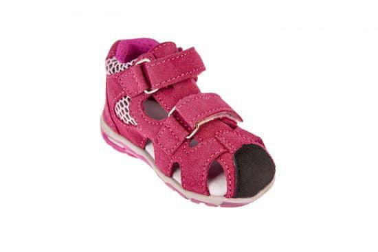 Medico dekliški usnjeni sandali EX4923/M76