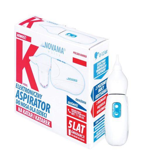 Novama WHITE K nosni aspirator
