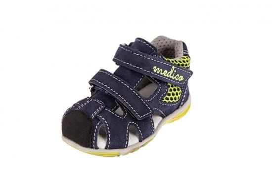 Medico fantovski usnjeni sandali EX4923/M80