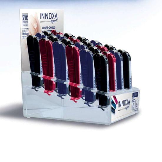 Innoxa VM-S76B, ščipalke za nohte, 9cm, 24pcs (3 barve)