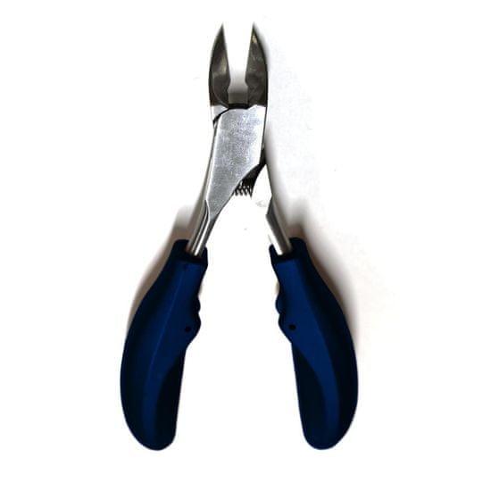 Innoxa VM-S82, ščipalke za nohte, nerjaveče jeklo z barvnimi ročaji, 14cm