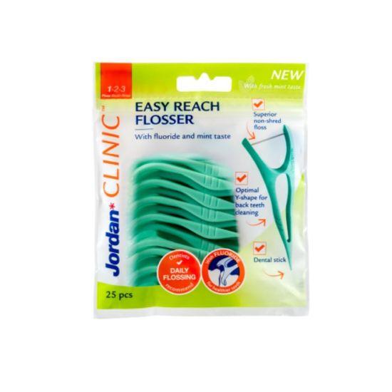 Jordan Easy Reach Dentální párátka, 25 ks