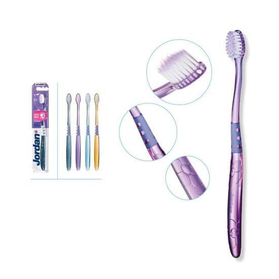 Jordan Target Sensitive Zubní kartáček na citlivé zuby, ultra měkká