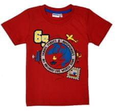 WINKIKI chlapecké tričko 98 červená