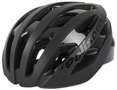 Polisport Light Pro kolesarska čelada, črna, 58 - 62