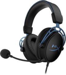 HyperX HyperX Cloud Alpha S gaming slušalke, modre