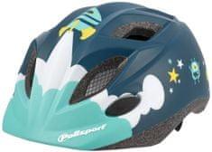 Polisport Kids Premium otroška kolesarska čelada, Space, 48-52