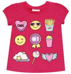 WINKIKI dívčí tričko 104 malinová