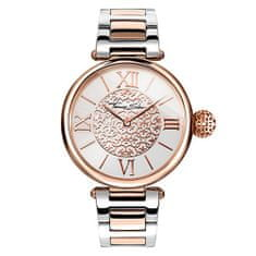 Thomas Sabo Dámské hodinky , WA0257-277-201-38 mm, Watches, stainless steel rose gold-coloured/silver-coloured, mineral glass sapphire coating, stainless steel strap rose gold-coloured/silver-coloured