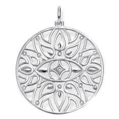 "Thomas Sabo Obesek ""Ornament"" , D_PE0002-725-21, Sterling Silver, 925 Sterling srebro, bel diamant"