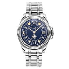 Thomas Sabo Dámské hodinky , WA0354-201-209-33 mm, Watches, stainless steel, mineral glass sapphire coating, stainless steel strap, zirconia white