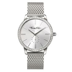 Thomas Sabo Dámské hodinky , WA0316-201-201-33 mm, Watches, stainless steel, mineral glass sapphire coating, stainless steel strap, zirconia white