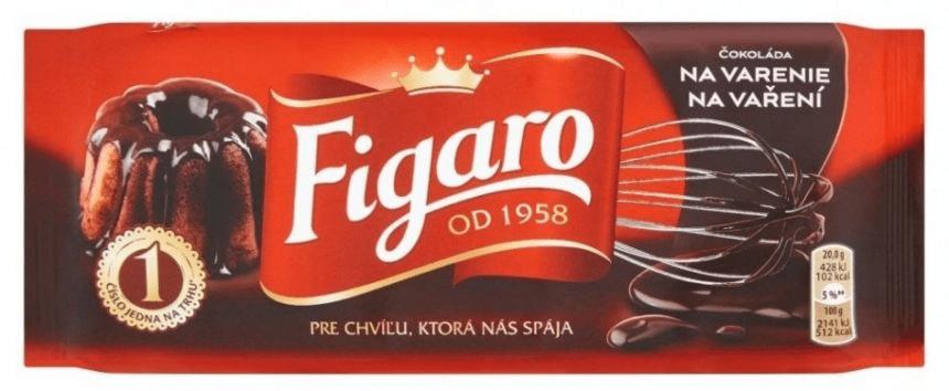 FIGARO Čokoláda na vaření hořká 21× 100 g
