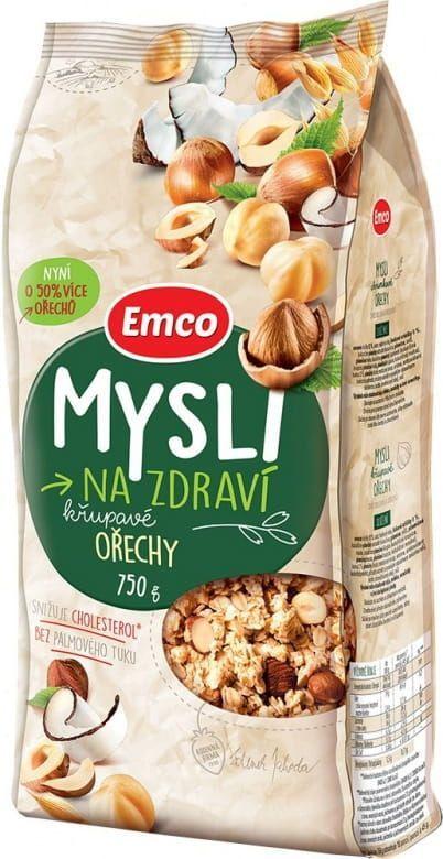 EMCO 12× Mysli Křupavé Ořechy 750 g