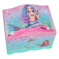 Fantasy Model Model biżuterii fantasy, Syrenka, różowo-turkusowa