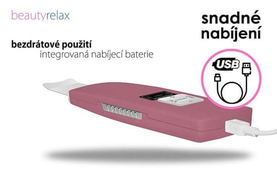 Beauty Relax Głęboko czyszcząca ultradźwiękowa szpachelka do twarzy BR-1010