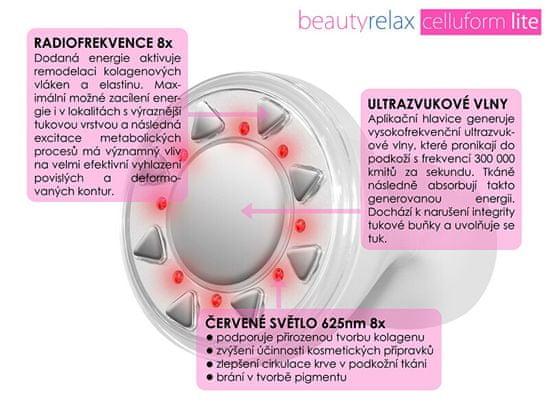 Beauty Relax Estetyczne urządzenie do kształtowania problematycznych obszarów Celluform Lite BR-1220L
