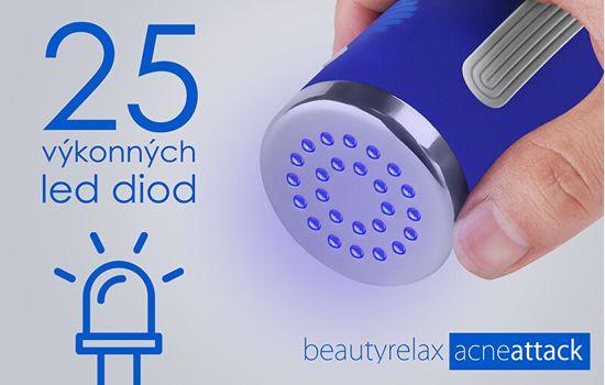 Beauty Relax Acneattack BR-1320 zabieg kosmetyczny dla problematycznej skóry trądzikowej