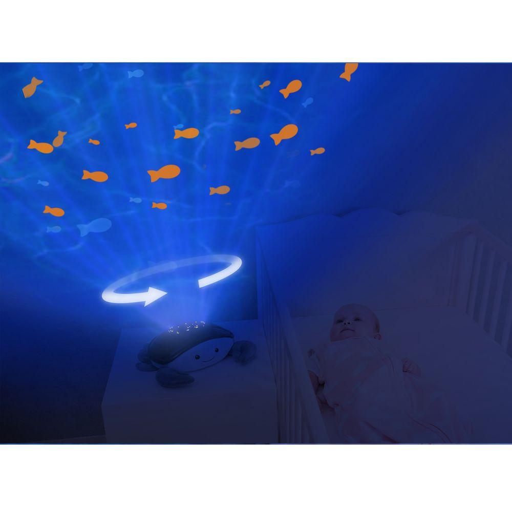 ZAZU Krab CODY - projektor oceánu s melodiemi
