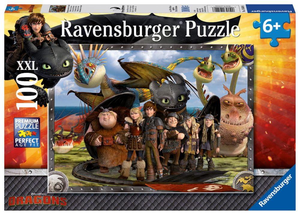 Ravensburger Jak vycvičit draka 2 100 dílků