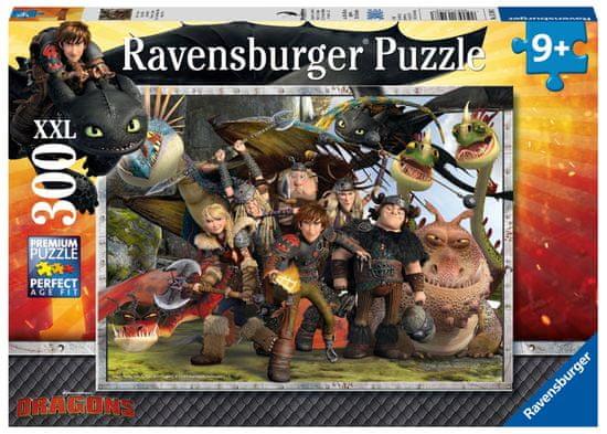 Ravensburger Így neveld a sárkányod: Tartsd közel a barátaid 300 darab