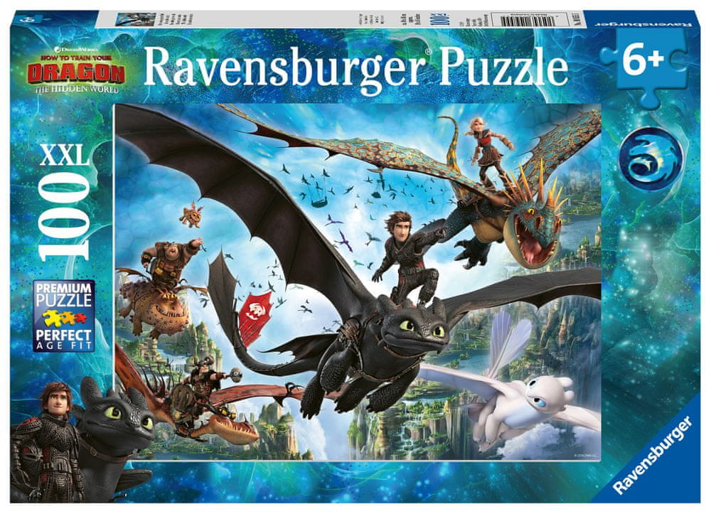 Ravensburger Jak vycvičit draka 3 100 dílků