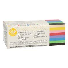 Wilton Sada gelových barev Icing Color Kit 8ks