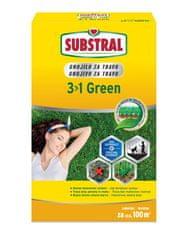 Substral 3v1 green gnojilo za travo, 2 kg