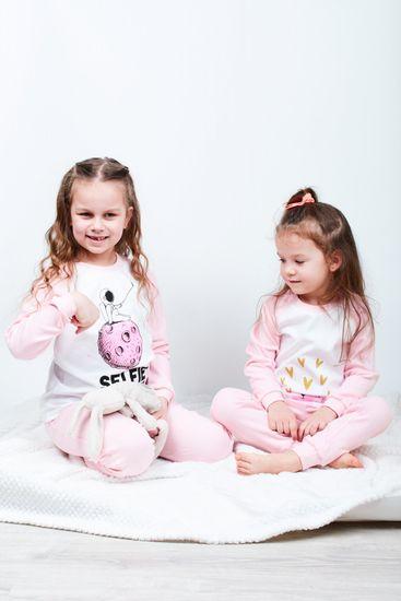 Garnamama dívčí pyžamo s potiskem svítícím ve tmě