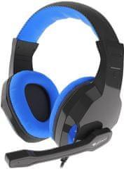 Genesis Argon 100, černá/modrá (NSG-1436)