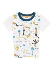 WINKIKI chlapecké tričko 104 bílá