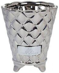 Lene Bjerre Keramický obal na květináč PRECIOUS stříbrný velký