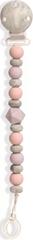 My Teddy Klip na dudlík - kuličky, růžový