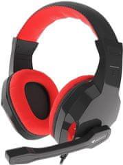 Genesis Argon 100, černá/červená (NSG-1433)