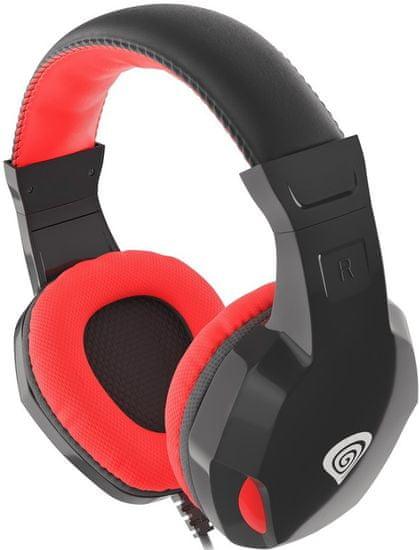 Genesis Argon 110, čierna/červená (NSG-1437) - použité