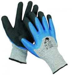 Free Hand Protiporézne máčené ninitrilové pracovní rukavice Lagopus 8/M