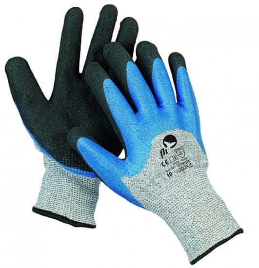 Free Hand Protiporézne máčené ninitrilové pracovní rukavice Lagopus