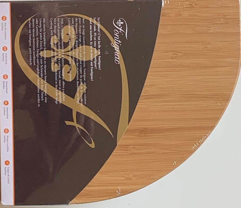 Fontignac Bambusový držák na nože