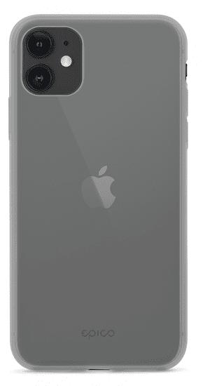 EPICO Silicone Case 2019 ovitek za iPhone 11, črno-transparenten, (42410101200002)