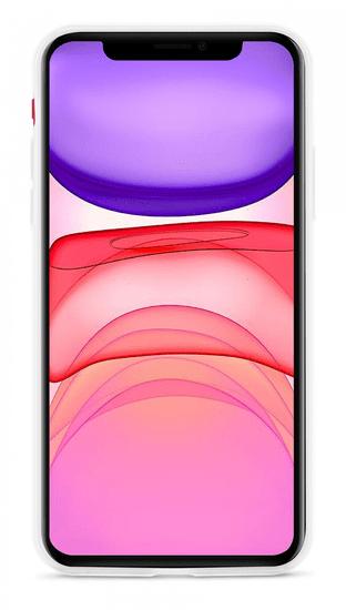 EPICO Silicone Case 2019 ovitek za iPhone 11, belo-transparenten (42410101000003)
