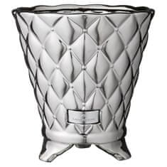 Lene Bjerre Keramický obal na květináč PRECIOUS stříbrný 20 cm