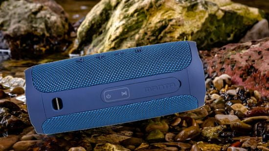 Manta SPK130GO Bluetooth zvočnik, moder
