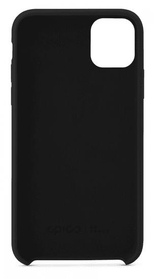 EPICO Silicone Case 2019 ovitek za iPhone 11, črn (42410101300001)
