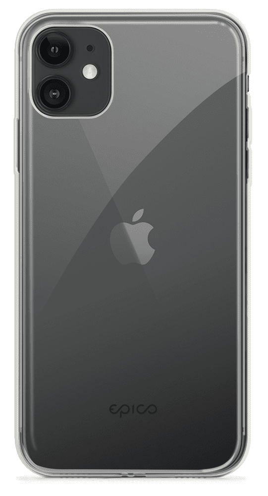 EPICO TWIGGY GLOSS CASE iPhone 11 - bílá transparentní (42410101000002)